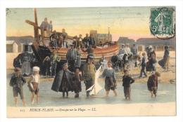 (3492-62) Berck Plage - Groupe Sur La Plage - Berck