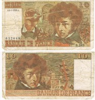 Billet De 10 Francs Français Type Berlioz, N° 652648  B289 - 10 F 1972-1978 ''Berlioz''