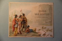 CHROMO - Image, CACAO VAN HOUTEN - Van Houten
