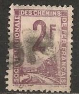 Timbres - France - Colis Postaux - 1944-1947 - S.N.C.F.-  2 F - Train -