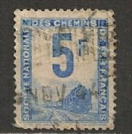 Timbres - France - Colis Postaux  - 1944-1947 - S.N.C.F.-  5 F - Train -