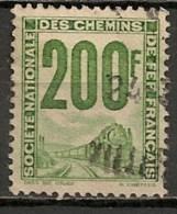 Timbres - France - Colis Postaux  - 1944-1947 - S.N.C.F.-  200 F - Train -
