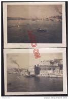 Au plus rapide Malte Malta La Valette Valetta Le port Harbour 1946