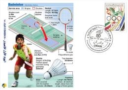 ALG Algeria N° 1666 Olympic Games Algerian Olympic Committee Badminton - Summer 2012: London