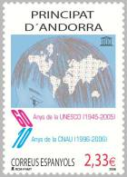ANDORRA ESPAÑOLA 2006 - 60º ANIVERSARIO DE LA UNESCO - UNESCO