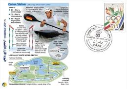 ALG Algeria N° 1666 Olympic Games Algerian Olympic Committee Canoë Slalom, Kayak - Summer 2012: London