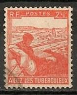 Timbres - France -1945 - 2 + 1 F - Aidez Les Tuberculeux -