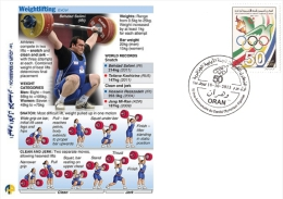 ALG Algeria N° 1666 Olympic Games Algerian Olympic Committee Weight Lifting - Weightlifting