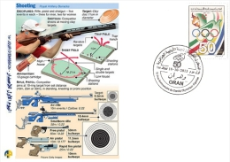 ALG Algeria N° 1666 Olympic Games Algerian Olympic Committee Shot (weapon) - Shooting (Weapons)