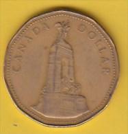 CANADA - 1994 Circulating $1 Coin  (*) - Canada