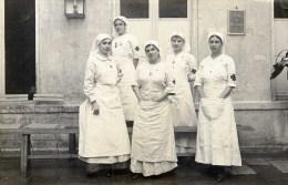 Carte Photo 5  Infirmières Croix-Rouge - Croix-Rouge