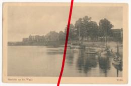 PostCard - Tiel - Gezicht Op De Waal - Ca. 1920 - Tiel