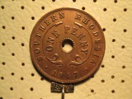 SOUTHERN RHODESIA 1 Penny 1947   # 2 - Rhodesia