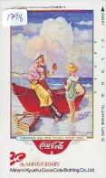 Télécarte Japon * COCA COLA  (1798) JAPAN PHONECARD * TELEFONKARTE * COKE * - Reclame