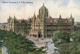 INDIA -  Victoria Terminus G. I. P. Railway BOMBAY - India