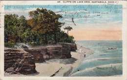 OHIO - ASHTABULA, Cliffs On Lake Erie, 1926, Seltene Nachportostempel - Etats-Unis