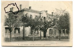 - 4 - Sus Oranais - AIN-EL-HADJAR,  Les Ecole, rare, �crite en  1905, splendide, TBE, scans.