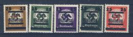 Lot Lokalausgaben Glauchau Michel No. 30 - 34 , 35 ** postfrisch