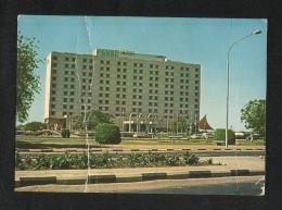 Khartoum  Picture Postcard Hilton International Khartoum  View Card - Sudan