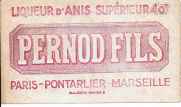 @ RARE BUVARD LIQUEUR D´ANIS SUPERIEUR 40 ° PERNOD FILS PARIS . PONTARLIER. MARSEILLE - Liquor & Beer