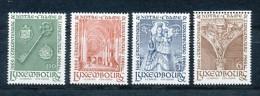 LUXEMBURG Mi. Nr. 729-732 Erwählung Der Muttergottes Als Schutzpatronin Der Stadt Luxemburg- Siehe Scan - MNH - Luxemburg