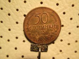 BULGARIA 50 Stotinki 1937           # 2 - Bulgaria