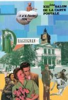 VAR 83 DRAGUIGNAN  ANNÉE  1994  COLLAGE FABIEN  MOREAU - Collector Fairs & Bourses