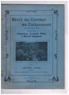 R�cit du Combat de COLLARMONT du 22 Ao�t 1914 sur les territoires d'Anderlues, Carni�res, Pi�ton et Mont-Ste-Aldegonde