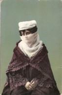 CONSTANTINOPLE CONSTANTINOPLA WOMAN FEMME FOLKLORE COSTUME CIRCULEE 1910 TIMBRE ARRACHES TBE GECKO - Turchia