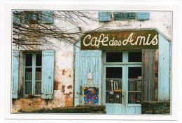 Commerce--Café Des Amis---à Localiser---- Cpm N° 174316  éd Marcou - Cafés