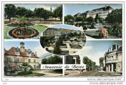 19 -  Souvenir De Brive - Multivues :Square Cartier - La Poste Les Jardins - Hotel  Labenche - Bld Mal Lyautey - Brive La Gaillarde
