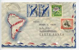 Uruguay 1962 Cover To Belgian Congo (D349) - Uruguay
