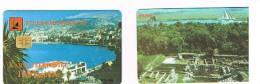 ALBANIA - TELEKOMI SHQIPTAR - TOWN AROUND THE BAY (CITTA' INTORNO ALLA BAIA)  ISSUE 03.1999 CHIP 2^ TYPE-USED-RIF.1475 - Albanie