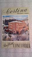 Parc Hôtel Concordia Cortina Dolomiti - Italia - Italy-Italie - Etiquettes D'hotels