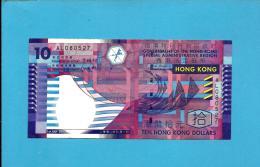 HONG KONG - 10 DOLLARS -  01.07.2002 - P 400 -  GOVERNMENT SPECIAL ADMINISTRATIVE REGION - 2 Scans - Hong Kong