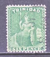 Trinidad 30   (o)   Wmk.  CC - Trinidad & Tobago (...-1961)