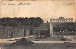 Z15931 Austria Vienna Schonbrunn Castle Schlossgarten Garden Gloriette Water Fountain - Château De Schönbrunn