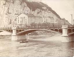 E1 Photo - 38 - GRENOBLE - Isère - Pont Des Dauphins - Ancianas (antes De 1900)