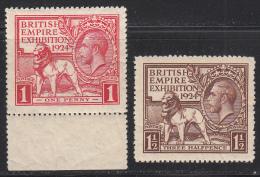 Great Britain 1924 Mint No Hinge, See Desc, Sc#  SG 430-431 - 1902-1951 (Könige)