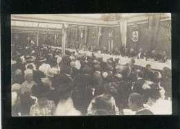 53 Laval Carte Photo Fête Religieuse Banquet De Curés & D' évêques , Intérieur Du Palais De L'industrie ?? - Laval