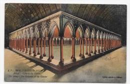 LE MONT ST MICHEL - N° 39 Bis - ABBAYE - GALERIES DU CLOITRE - Le Mont Saint Michel