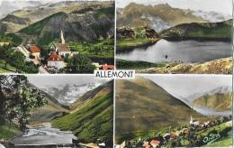 Allemont (Isère) - Multivues - Vue Générale - Carte André, Non Circulée - Allemont