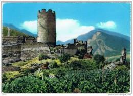 VILLENEUVE (AO):  CASTELLO  ARGENT  -  PER  LA  SVIZZERA  -  FG - Castelli