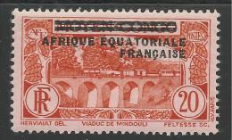 AFRIQUE EQUATORIALE FRANCAISE - AEF - A.E.F. - 1936 - YT 7** - Unused Stamps