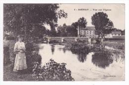 21 Di�nay Vers Is sur Tille N�3 Vue sur l'Ignon Femme au bord de l'eau en 1914 Edit Veuve Mortier