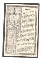 Doodsprentje Antonia Paulina SUNS Echtg Josephus Benedictus Reynen Antwerpen 1813 - 1883 - Lith. Petyt Bruges - Devotion Images