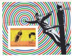 Madagascar Hb Michel 12B SIN DENTAR - Madagascar (1960-...)