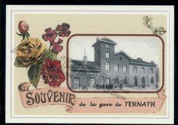 TERNATH  ..... Gare Souvenir  Creation Moderne Série Limitée Et Numerotée 1 à 10 ... N°2/10 - Ternat