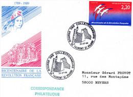 TALMONT SAINT HILAIRE, 85 : TàD 1989 - Bicentenaire, Bourse Des Collectionneurs - Other