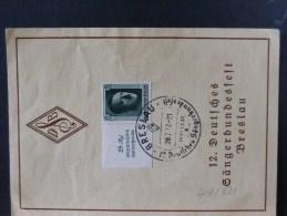49/621   DOC. . TIMBRE   HITLER  1937 - Germania